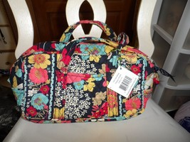 Vera Bradley small duffel style 100 handbag in retired Happy Snails NWT - $28.50