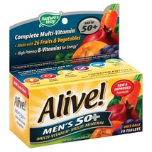 Nature''s Way Alive! Men''s 50+ Multivitamin/Multimineral Once Daily Tab... - $90.93