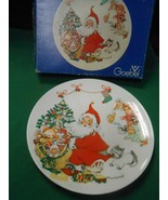 Great GOEBEL Collector Plate CHARLOT BYI 1973 CHRISTMAS- W.Germany - $6.52