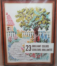 Charmin Janlynn Road to Friends 2824 Counted Cross Stitch 12x16 Opened - $26.66