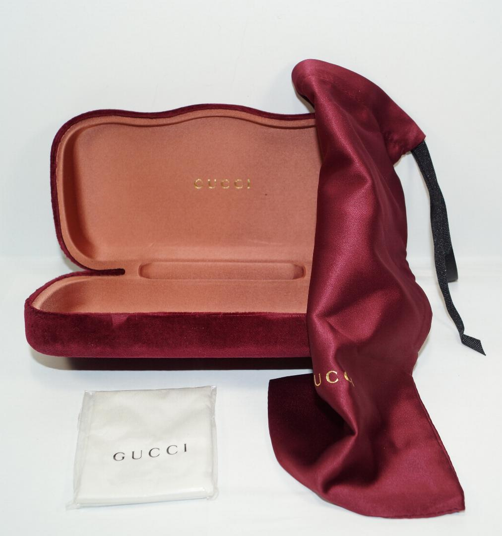 0c3eb4b6be07 New Gucci Hard Shell Velvet Burgundy Red and 26 similar items