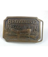 1977 Browning Rifle Belt Buckle By INDIANA META... - $24.74