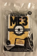 Mcdonald's 2017 Despicable Me 3 Minions Happy Meal Toy #10 DESPICABLE DECK New! - $5.91