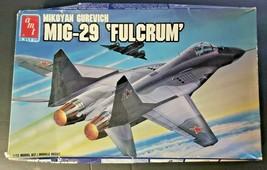 Vintage 1988 AMT/ERTL MiG-29 'Fulcrum' 1:72 Scale Model Kit # 8828 - $38.99