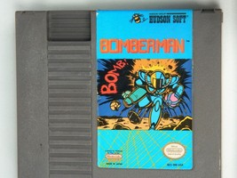 Vintage BOMBERMAN NES Nintendo Video Game Cartridge 1985 Japan - $29.65