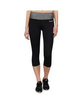 Bench Femmes Noir Avec Gris Bruyère Rajak Capri Yoga Fitness Pantalon BLNF0049