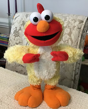 Sesame Street CHICKEN DANCE ELMO by Fisher Price - Sings & Flaps His Wings - $23.76