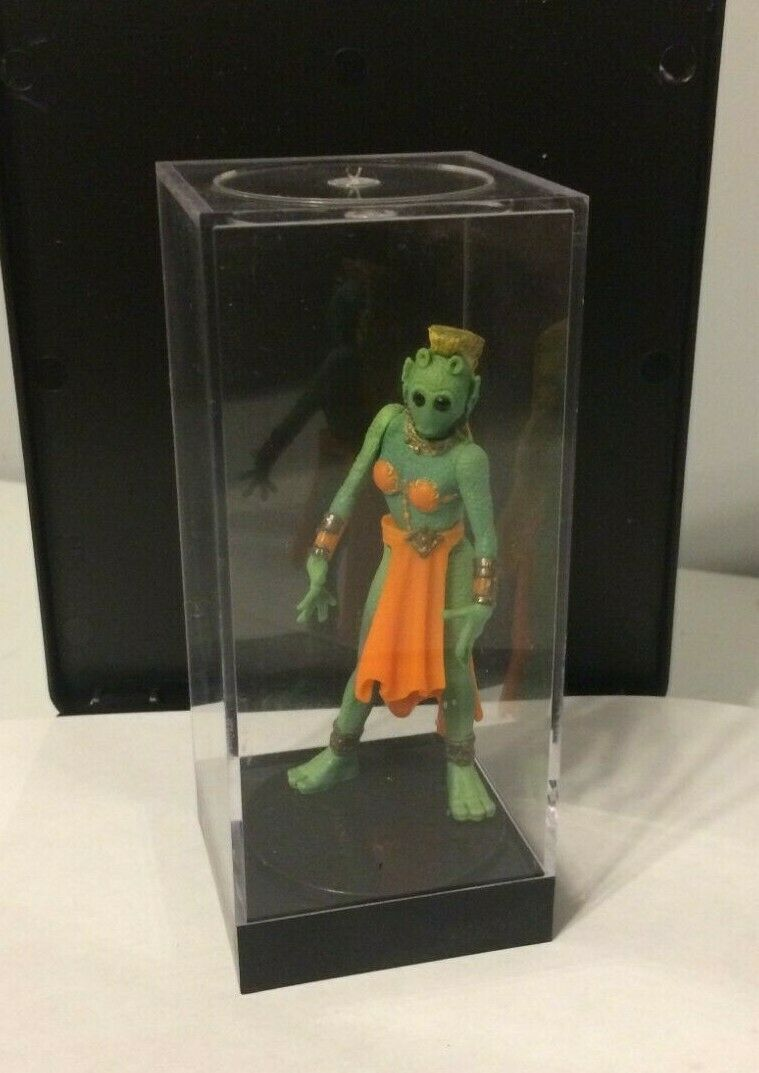 Star Wars Power of the Force Rodian GREEATA Jabba's Dancers action figure w/case
