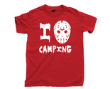 Friday The 13th T Shirt, 80s Horror Movie I Love Camping Unisex Cotton Tee Shirt