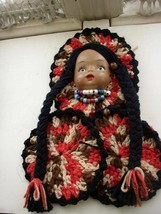 Vintage, South Western Girl Dolly with 2 Potholders - $9.45