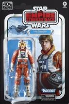 Star Wars 40th Anniversary Luke Skywalker (Snowspeeder) Black Series 6in figure - $35.98