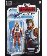 Star Wars 40th Anniversary Luke Skywalker (Snowspeeder) Black Series 6in... - $35.98