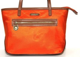 5f23c919d267 Michael Kors Kempton Orange Nylon North South Tote Handbag - $38.00
