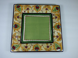 "SET OF 3 - TABLETOPS UNLIMITED ESPANA PAISLEY 10-7/8"" DINNER PLATES - MINT! - $58.80"