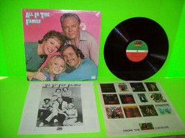 All In The Family Original Cast Comedy LP Record Album 1971 Archie Bunke... - $8.38