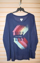 NEW WOMENS PLUS SIZE 4X ENJOY TODAY.. EVEN IF IT'S MONDAY BLUE T SHIRT - $16.44