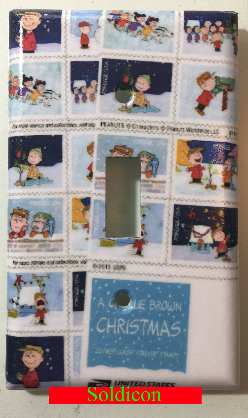 Snoopy snow stamps single toggle