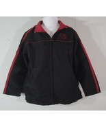 Black Basketball Jacket Red Sports Mesh Lining Pullover and Zip Boys Kid... - $4.99