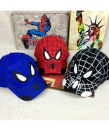 Kid Toddler Children Boy Girl Spiderman Peaked Snapback Hat Baseball Cap... - $21.00