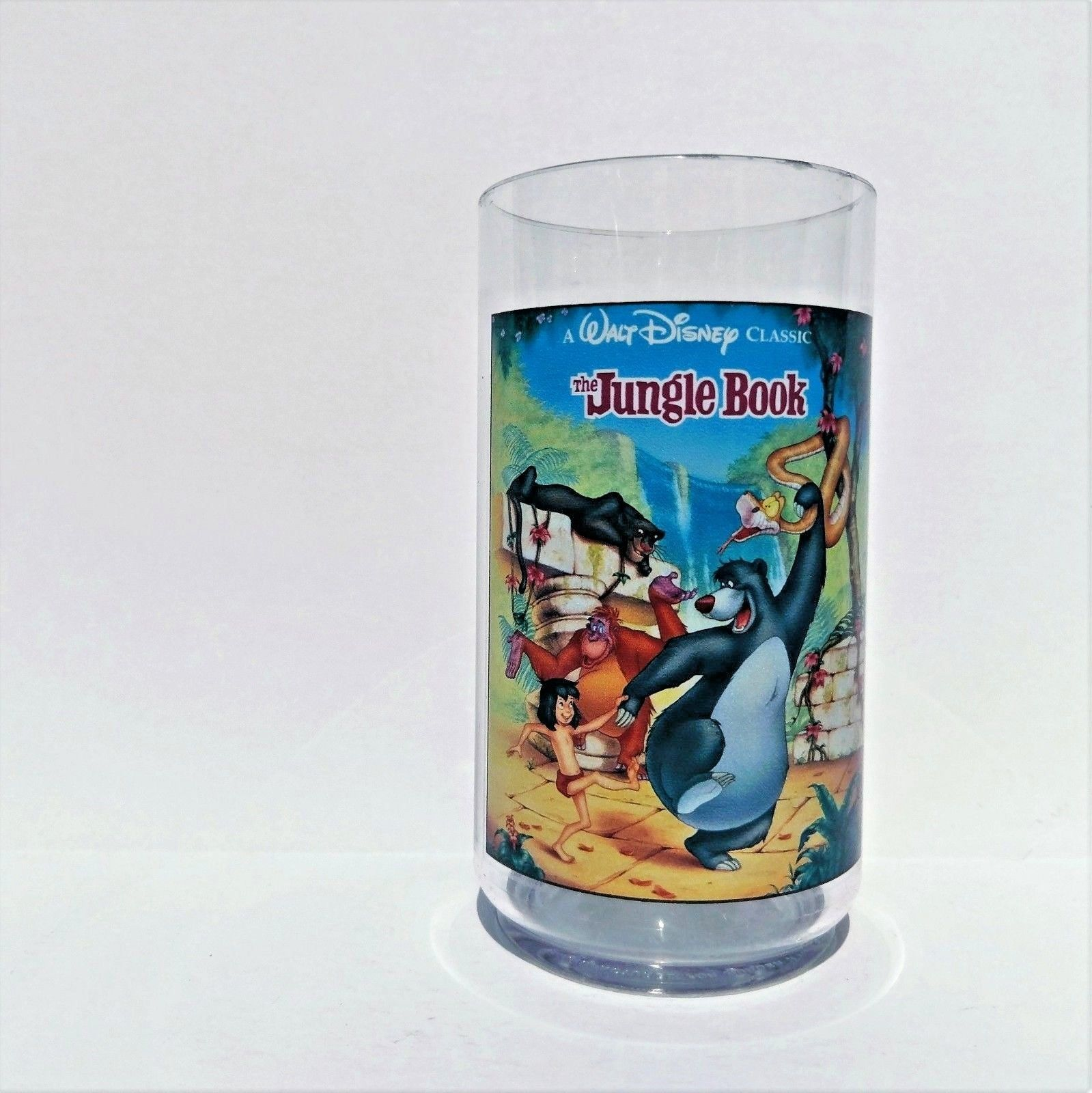 Disney The Jungle Book Collector Series Cup Burger King Coca Cola 1994