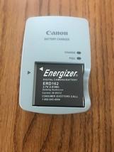 Canon Battery Charger & Energizer Digital Caméra Battery ERD162 3.7V 2.81Wh - $37.22