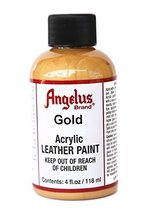 Angelus Acrylic Paint 4 Oz. (Gold) - $3.42