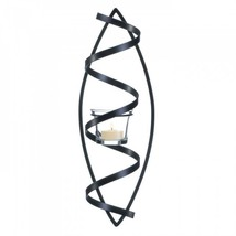 Spiral Candle Wall Sconce - $19.00