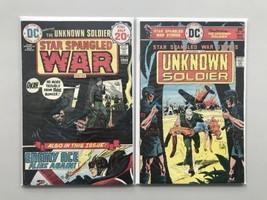 Lot of 2 Star Spangled War Stories (1952 DC #3-204) #181 197 FN Fine - $21.78