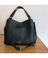 Kate Spade Talia Small Triple Compartment Leather Crossbody ~ Black Bag ... - $134.95