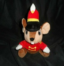 """7"""" DISNEY PARKS BROWN TIMOTHY MOUSE DUMBO STUFFED ANIMAL PLUSH TOY SOFT ... - $18.70"""