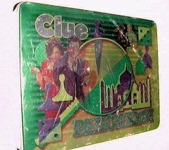 Hasbro Clue & Parcheesi Twin Play Board Game Tin Box 2001 Item No. 41501... - $24.74