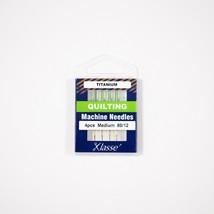 Klasse Titanium Quilting 80/12, 4 Needles-Bundle of 20 Needles - $15.83