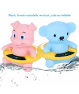 Baby Water Thermometer Bear Pig Bath Temperature Tester Infant Floating ... - $16.99