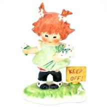 "1958 W Goebel TMK4 Charlot Byj 24 ""Daisies Won't Tell"" Redheaded Girl Figurine - $29.69"