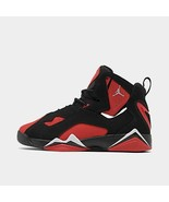 Air Jordan True Flight Grade School Black/Chrome-University Red CU4934-001 - $140.00
