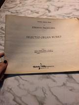 Johann Pachelbel Kalmus Organ Series selected Work Volume 1 Sheet Music ... - $17.09