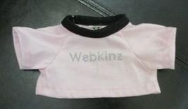 Webkinz Animals Shirt Pink With Black Trim by Ganz - $6.92