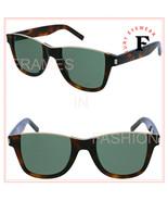 SAINT LAURENT CUT AWAY 51 YSL SL51 Brown Green Topless Sunglasses Unisex... - $336.60