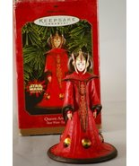 Hallmark Queen Amidala Star Wars Episode 1 1999 Keepsake Ornament QXI4187 - £7.56 GBP