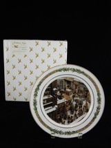 Department 56 Christmas Classic Collector Plate ~ No. VI Christmas Scene - $28.49