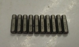 "Bosch 7/32"" Allen B Insert Power Screw Tips 10pcs. 1609433438 27101 - $2.48"