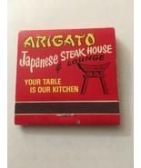 Vintage Matchbook Arigato Japanese Steak House Restaurant - $2.71