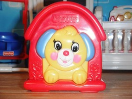 "Fisher Price Baby Squeak Dog House Toddler Toy fits 16 18"" American Girl... - $3.99"