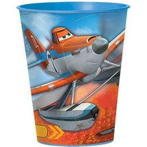 Planes Keepsake Souvenir Plastic Stadium 16 oz Cup Blue Rim NEW - $1.93