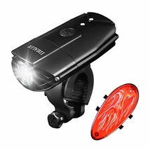 IDEALUX LED Bicycle Lights - 900 Lumens Super Bright LED Front and Back ... - $20.02