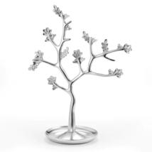 LC LAUREN CONRAD Tree Ring Holder Trinket Tray silver tone NEW - $33.94