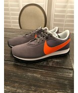 Nike Orange Swoosh with Gunsmoke suede A03166-004 Womens Size 9 Brand New - $64.35