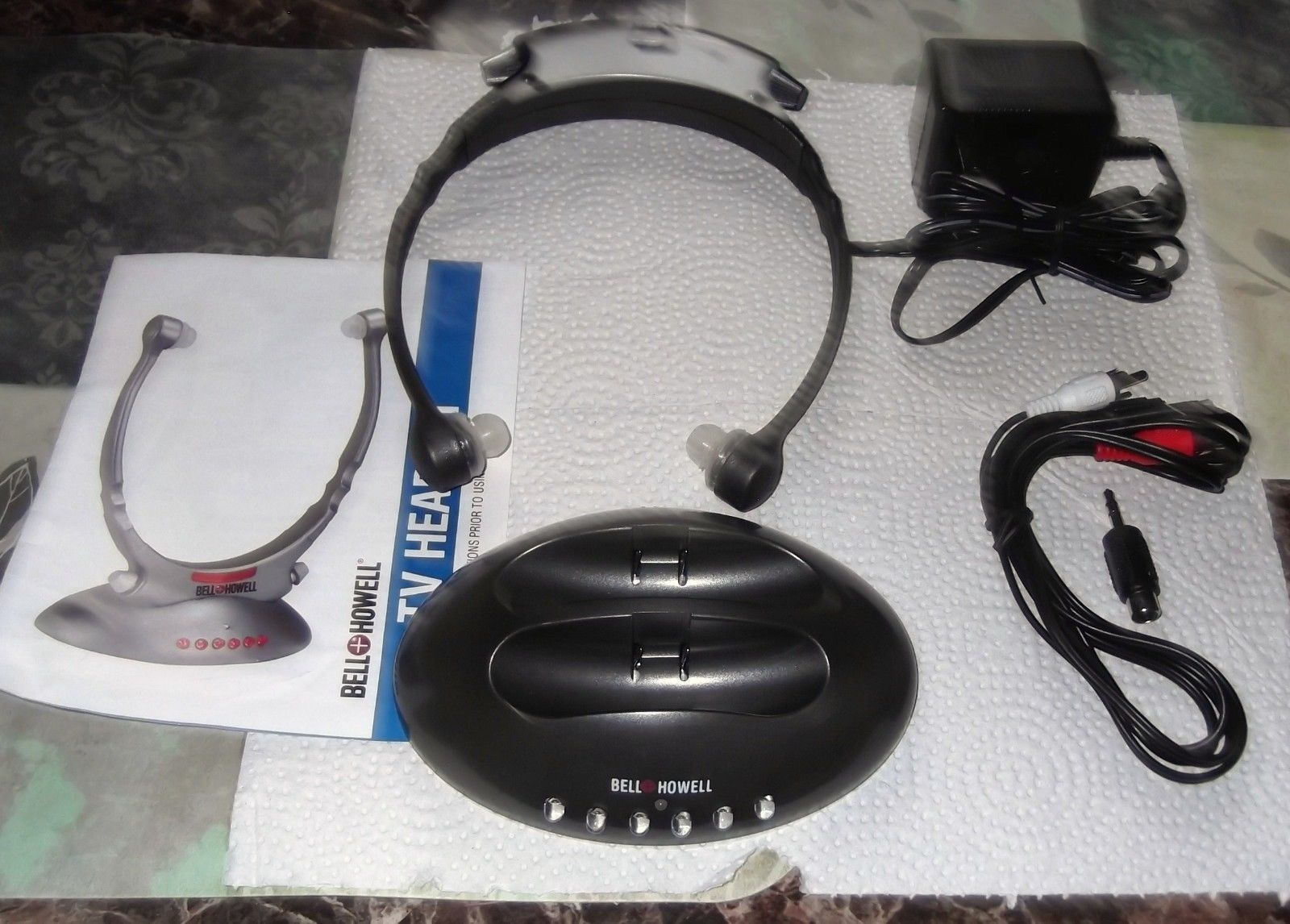 Bell & Howell Wireless Television Headset