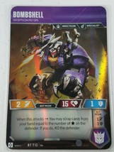 Transformers TCG - Rise of the Combiners - Bombshell - RT T12 - WOTC 2019 - $9.00