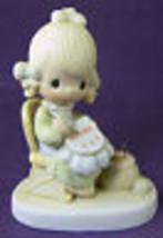 Precious Moments MOTHER SEW DEAR Figurine Jonathan & David 1979 E3106 Ne... - $18.39